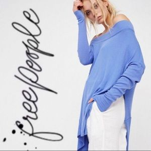 New Free People Off-The-Shoulder Tunic Top